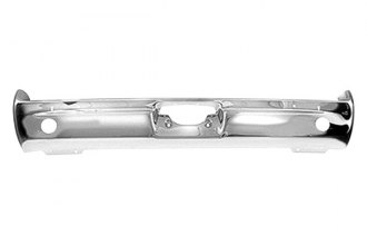 Goodmark® - Rear Chrome Bumper Face Bar