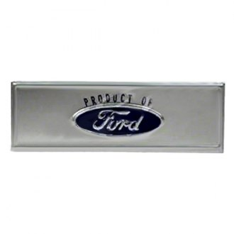 "Goodmark® - ""Product of Ford"" Door Sill Plate Emblem"