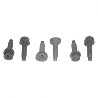 Goodmark® - Front Outer Passenger Side Door Hinge Bolt Set
