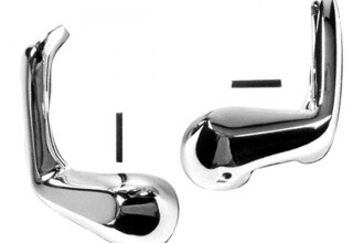 Goodmark® - Front Driver and Passenger Side Vent Window Handles