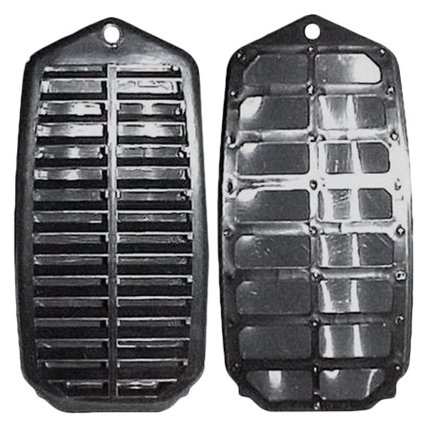 Goodmark® - Driver and Passenger Side Door Jamb Vent Louvers