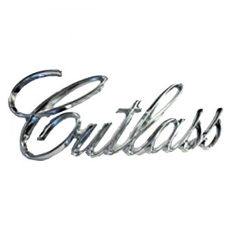 "Goodmark® - ""Cutlass"" Fender Emblem"