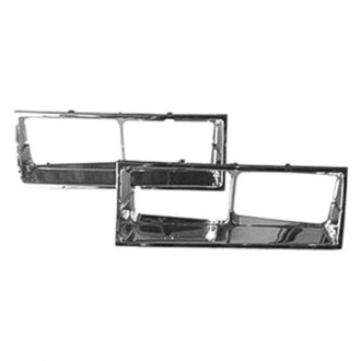 Goodmark® - Chrome Headlight Bezel Set