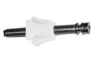 Goodmark® - White Headlight Adjusting Screws and Nuts