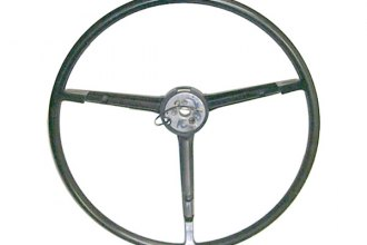 Goodmark® - Black Steering Wheel