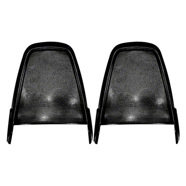Goodmark® - Black Bucket Seat Back Trim Panels