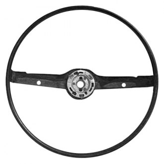 Goodmark® - Standard Black Steering Wheel