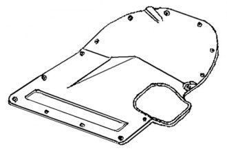 Goodmark® - Transmission Floor Pan Cover