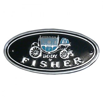 "Goodmark® - ""Body by Fisher"" Quarter Panel Emblem"