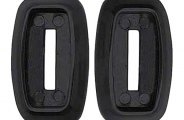 Goodmark® - Black Dash Assist Bar Bezels