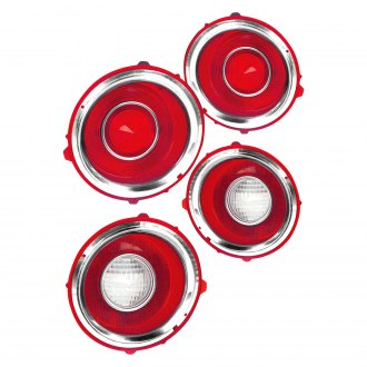 Goodmark® - Driver Side Replacement Tail Light Lens