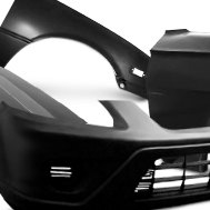 ALT   Goodmark® - Replacement Front Bumper Cover