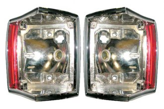 Goodmark® - Rear Driver and Passenger Side Tail Light Bezels