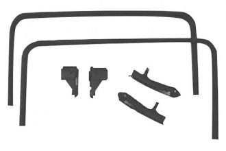 Goodmark® - Black T-Top Headliner Molding Set