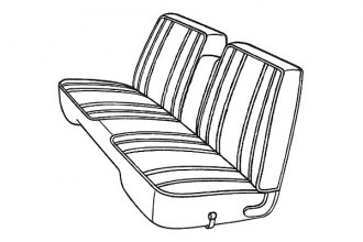 Goodmark® - Front Seat Cover