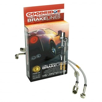 Goodridge® - G-Stop Stainless Steel Front and Rear Brake Line Kit