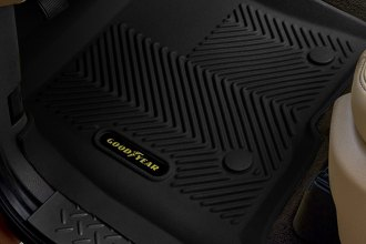 Goodyear® - 1st & 2nd Row Black Floor Liners Set