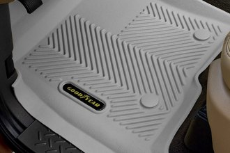 Goodyear® - 1st & 2nd Row Gray Floor Liners Set