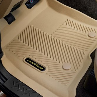 Goodyear® - 1st & 2nd Row Tan Floor Liners Set