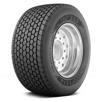 GOODYEAR® - G392A SSD DURASEAL PLUS FUEL MAX WIDE BASE