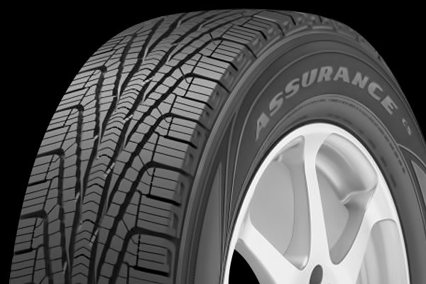 GOODYEAR® - ASSURANCE CS TRIPLETRED Tire Protector Close-Up