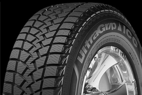 GOODYEAR® - Ultra Grip Ice WRTP Tire Protector Close-Up