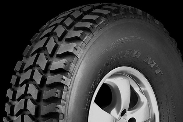 GOODYEAR® - WRANGLER M/T Tire Protector Close-Up