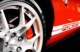 GOODYEAR® - Tires on Ford GT