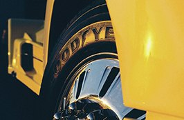GOODYEAR® - Tires on Yellow Mack Attack 1956