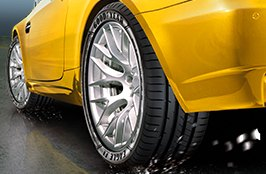 GOODYEAR® - Eagle F1 Tires on the Race Car