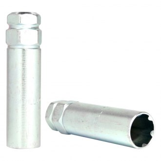 Gorilla Automotive® - Chrome Small Diameter Duplex Lug Nut and Lock Key