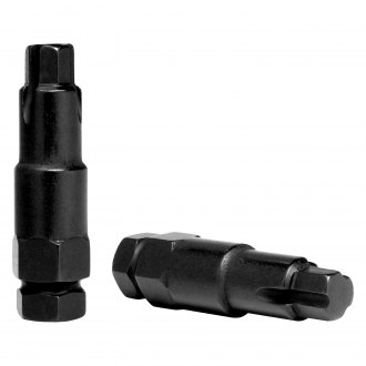 Gorilla Automotive® - Black Chrome Hex Socket Bolt Wheel Lock Key