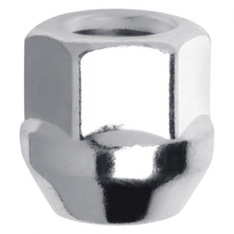 Gorilla Automotive® - Chrome Acorn Bulge Open End Cone Seat Wheel Lug Nut