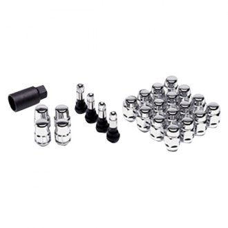 Gorilla Automotive® - Chrome Acorn Open End Cone Seat Wheel Installation Kit