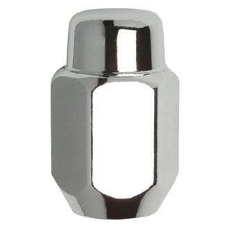 Gorilla Automotive® - Chrome With Heat Treated Cone Seat Acorn Heat Treated Lug Nuts