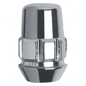 Gorilla Automotive® - Chrome Cone Seat Acorn Wheel Locks