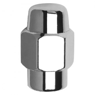 Gorilla Automotive® - Chrome Short Shank Seat Wheel Lug Nuts