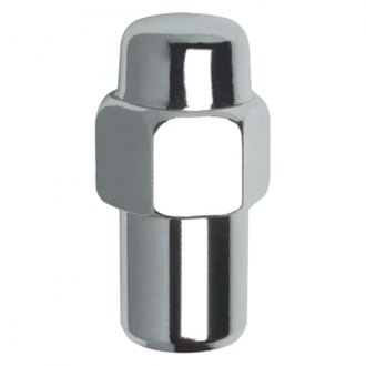 Gorilla Automotive® - Chrome Keystone Mag Shank Seat Wheel Lug Nuts