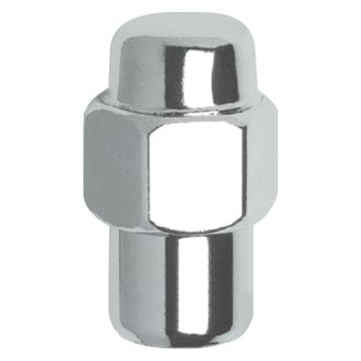 Gorilla Automotive® - Chrome Short Mag Shank Seat Wheel Lug Nuts