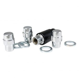 Gorilla Automotive® - Chrome Shank Seat Short Mag Wheel Locks