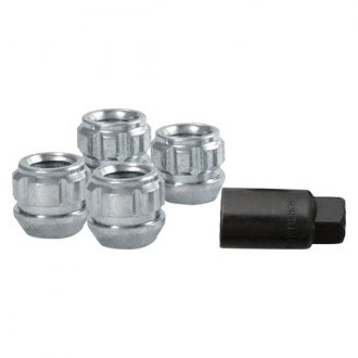 Gorilla Automotive® - Chrome Cone Seat Acorn Open End Wheel Locks