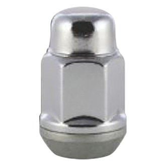 Gorilla Automotive® - Chrome Cone Seat Torque Retention Acorn Bulge Lug Nuts