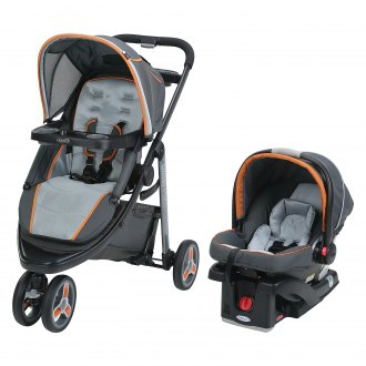Graco Baby® - Modes™ Tangerine Style Sport Click Connect Travel System