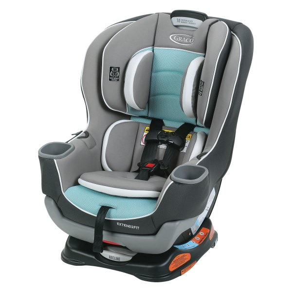 graco baby 1963211 extend2fit spire style convertible car seat. Black Bedroom Furniture Sets. Home Design Ideas
