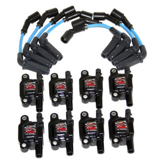 Granatelli Motor Sports® - Coil-Near-Plug Conn Kit with High Performance Coils