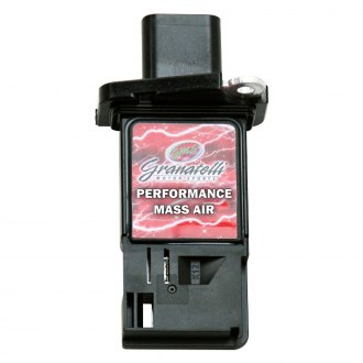 Granatelli Motor Sports® - Black Mass Air Flow Sensor
