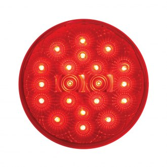 "Grand General® - 4-1/4"" Diameter x 1-5/16"" H. Round Low Profile Spyder LED Stop/Turn/Tail"