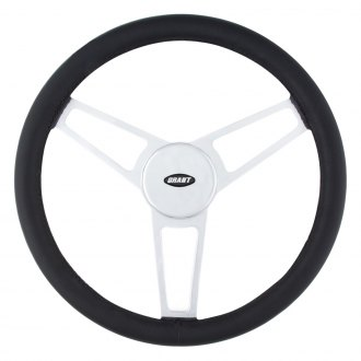 Grant® - 3-Spoke Billet Series Leather Steering Wheel