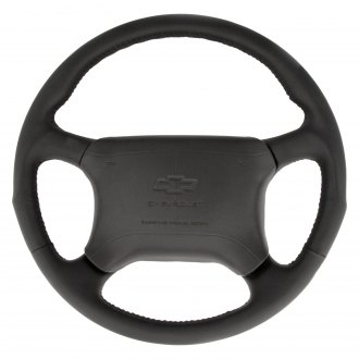 Grant® - 4-Spoke Leather Wrapped Airbag Replacement Steering Wheel