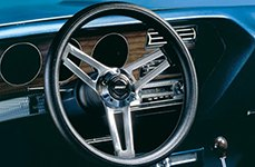 Grant® Leather Clasic Style Steering Wheel